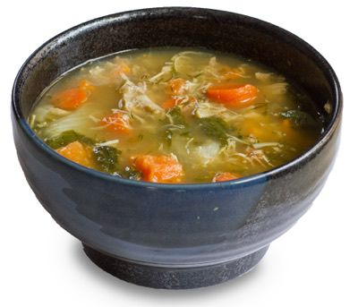 Chicken soup - The most common home remedies for colds and flu